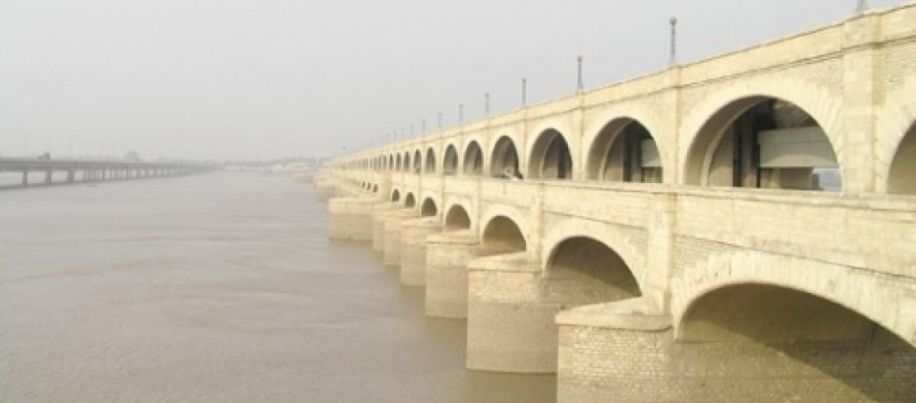 Sukkur Barrage, officially named the Lloyd Barrage